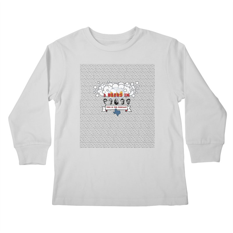 The Faces So Far Kids Longsleeve T-Shirt by 3 Beers In's Artist Shop