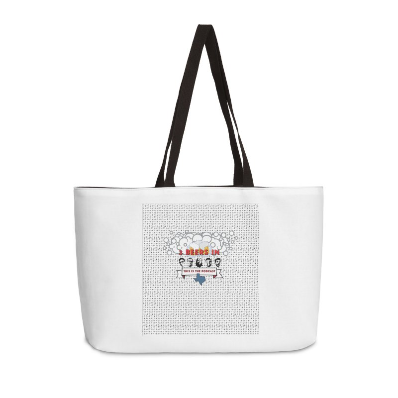 The Faces So Far Accessories Weekender Bag Bag by 3 Beers In's Artist Shop