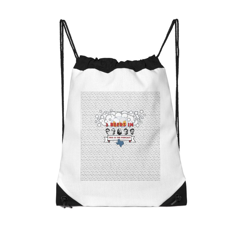 The Faces So Far Accessories Drawstring Bag Bag by 3 Beers In's Artist Shop