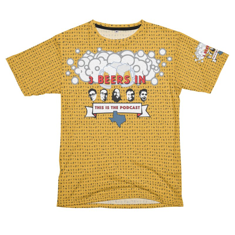 f1ab1e Men's French Terry T-Shirt Cut & Sew by 3 Beers In's Artist Shop
