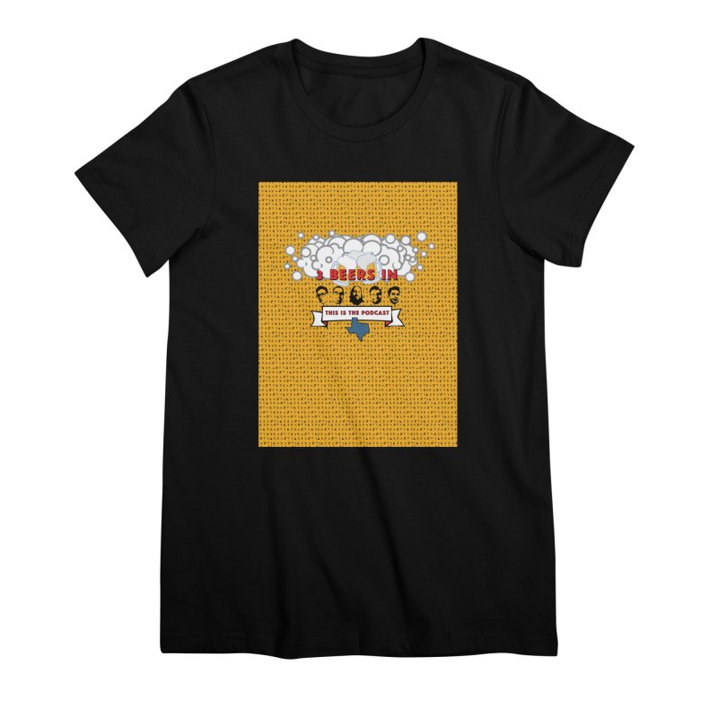 f1ab1e Women's Premium T-Shirt by 3 Beers In's Artist Shop