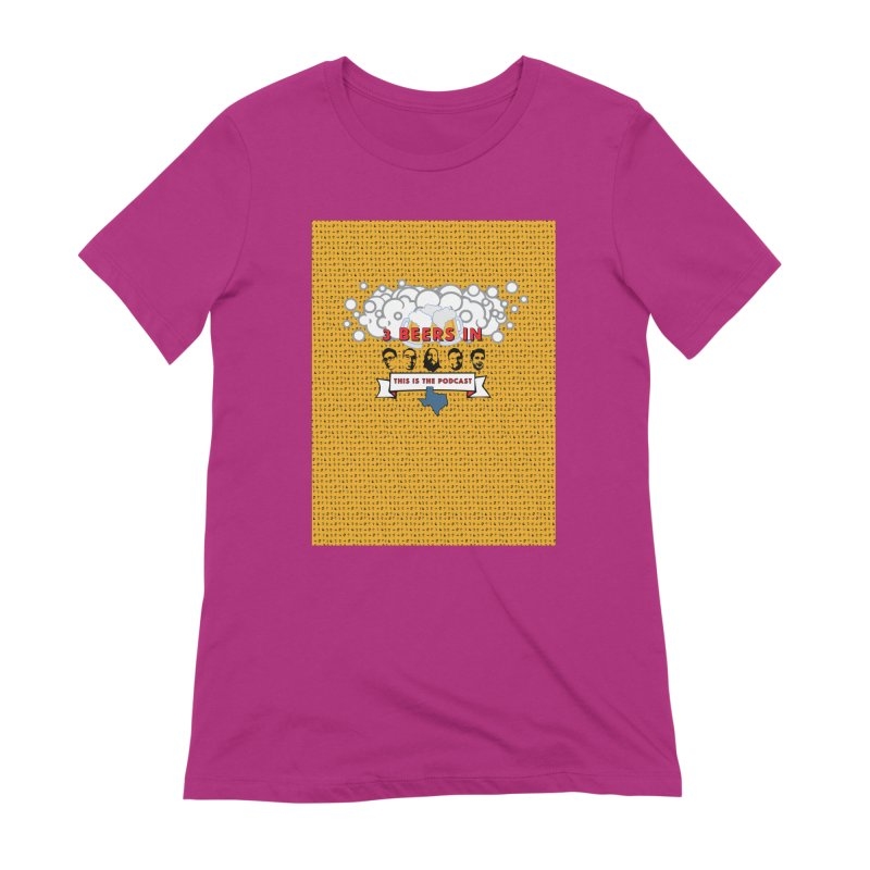 f1ab1e Women's Extra Soft T-Shirt by 3 Beers In's Artist Shop