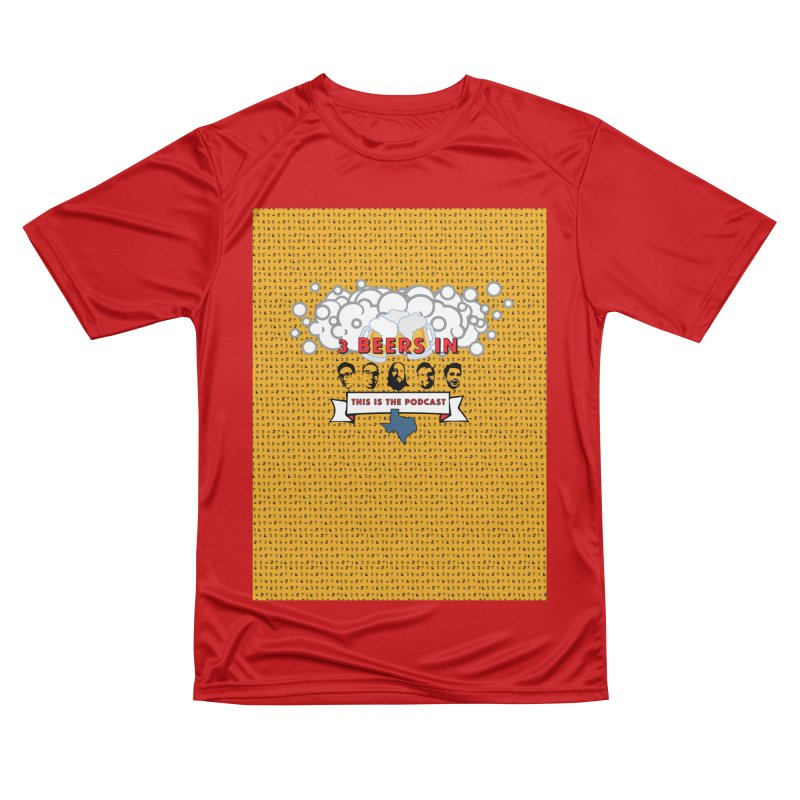 f1ab1e Men's Performance T-Shirt by 3 Beers In's Artist Shop
