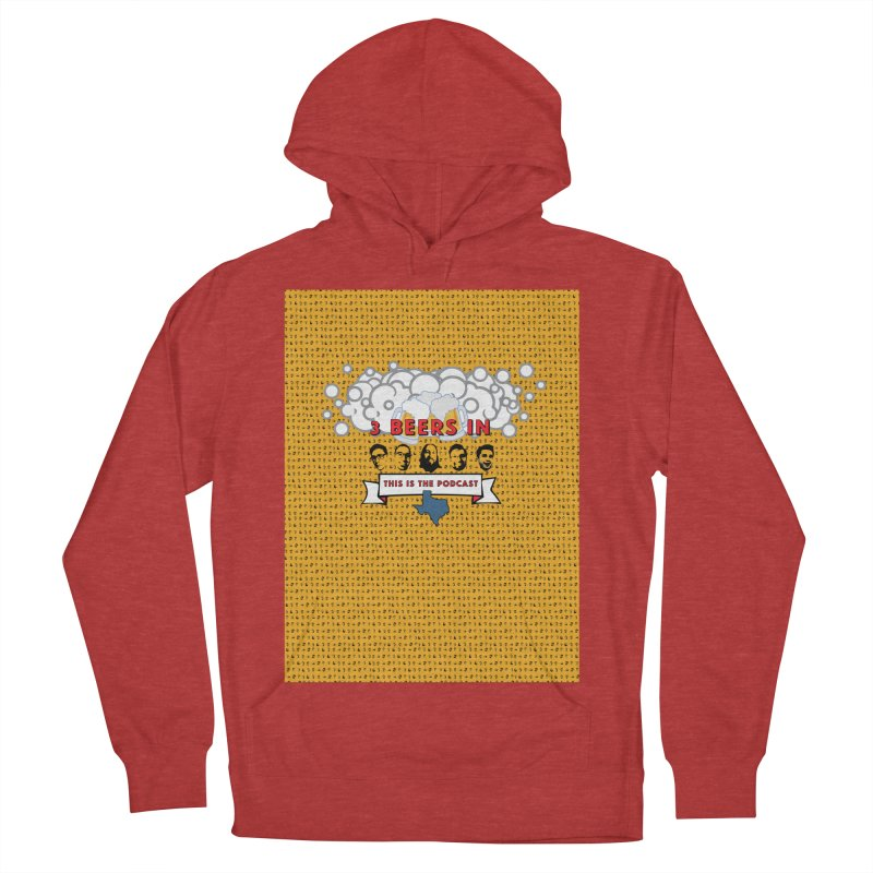 f1ab1e Women's French Terry Pullover Hoody by 3 Beers In's Artist Shop