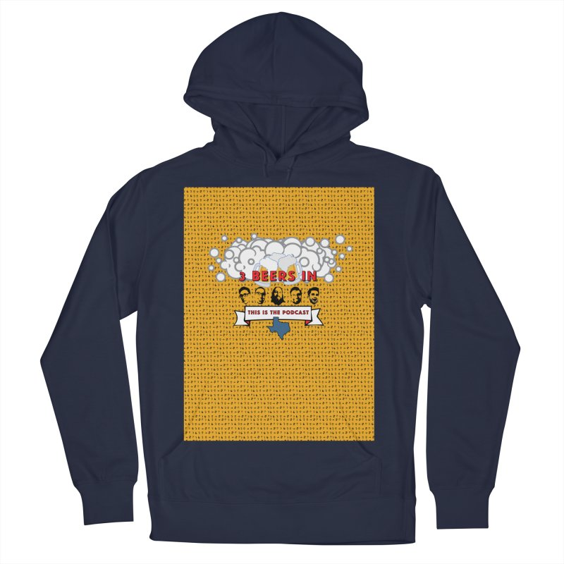 f1ab1e Men's French Terry Pullover Hoody by 3 Beers In's Artist Shop