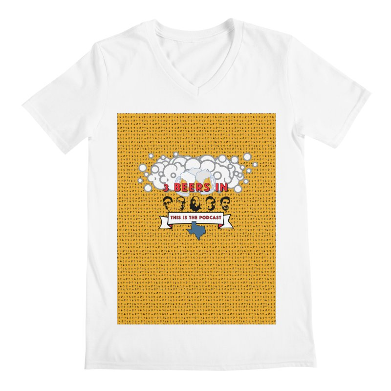 f1ab1e Men's V-Neck by 3 Beers In's Artist Shop