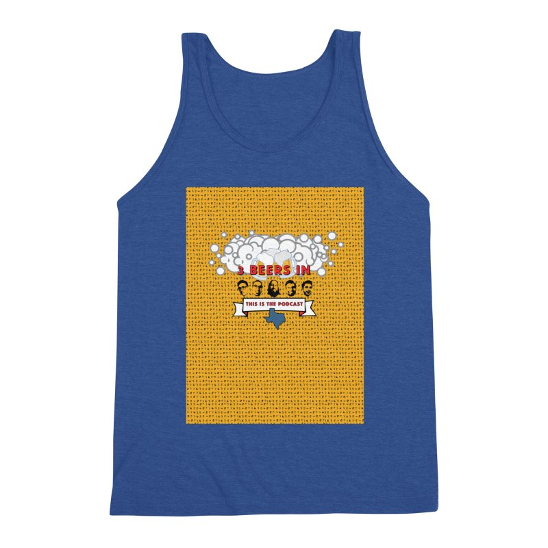 f1ab1e Men's Triblend Tank by 3 Beers In's Artist Shop