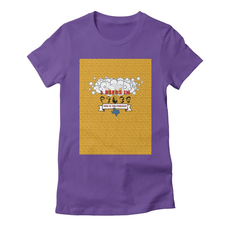 f1ab1e Women's Fitted T-Shirt by 3 Beers In's Artist Shop