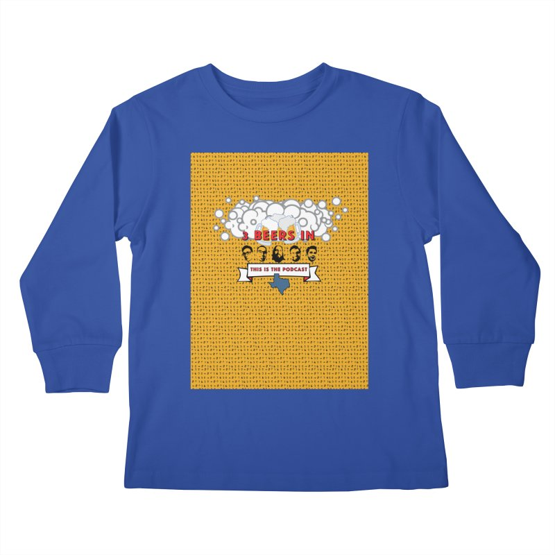 f1ab1e Kids Longsleeve T-Shirt by 3 Beers In's Artist Shop