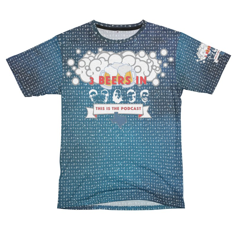 Stars Men's French Terry T-Shirt Cut & Sew by 3 Beers In's Artist Shop