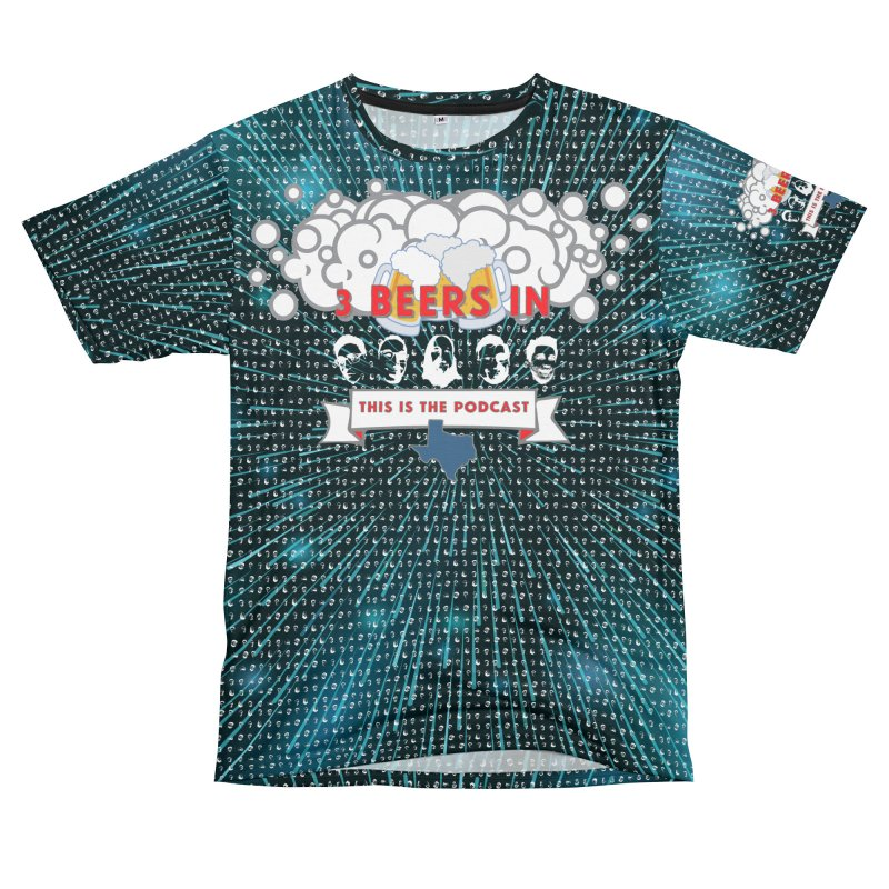 Hyperspace Men's T-Shirt Cut & Sew by 3 Beers In's Artist Shop