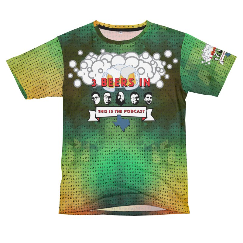 Colorful Geometry Men's T-Shirt Cut & Sew by 3 Beers In's Artist Shop