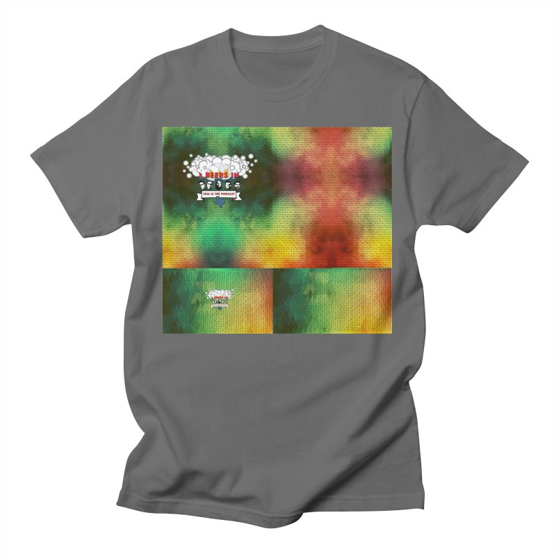 Colorful Geometry Men's T-Shirt by 3 Beers In's Artist Shop