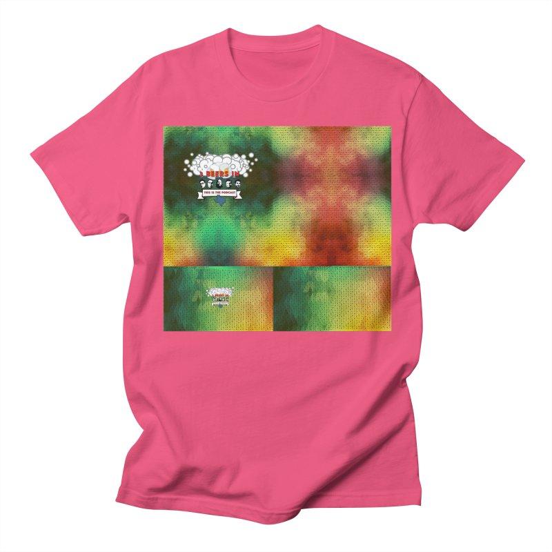 Colorful Geometry Men's Regular T-Shirt by 3 Beers In's Artist Shop