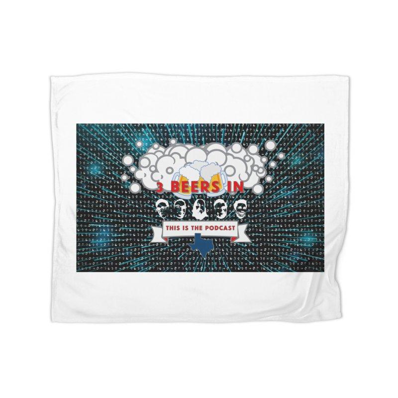 Hyperspace Home Home Fleece Blanket Blanket by 3 Beers In's Artist Shop