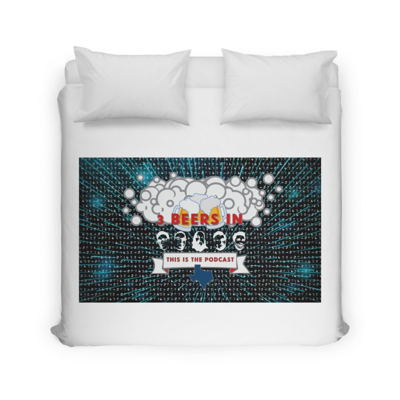 Hyperspace Home Home Duvet by 3 Beers In's Artist Shop