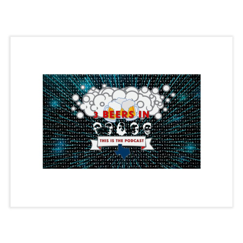 Hyperspace Home Home Fine Art Print by 3 Beers In's Artist Shop