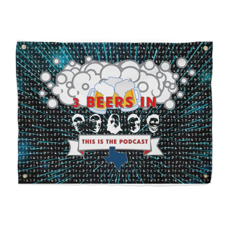 Hyperspace Home Home Tapestry by 3 Beers In's Artist Shop