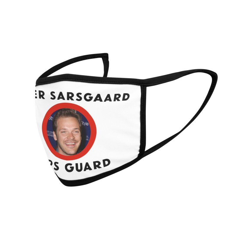 Peter Sarsgaard Sars Guard Accessories Face Mask by 3 Beers In's Artist Shop