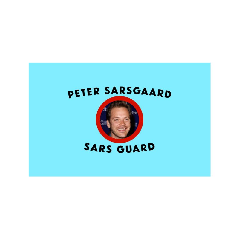 Peter Sarsgaard Sars Guard Blue Accessories Face Mask by 3 Beers In's Artist Shop