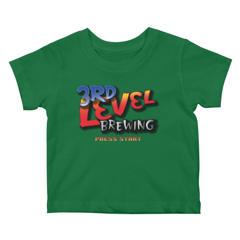 3RD Level Fight Kids Baby T-Shirt by 3 Beers In's Artist Shop