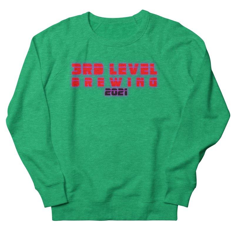 3rd Level Dystopian Future Women's Sweatshirt by 3 Beers In's Artist Shop