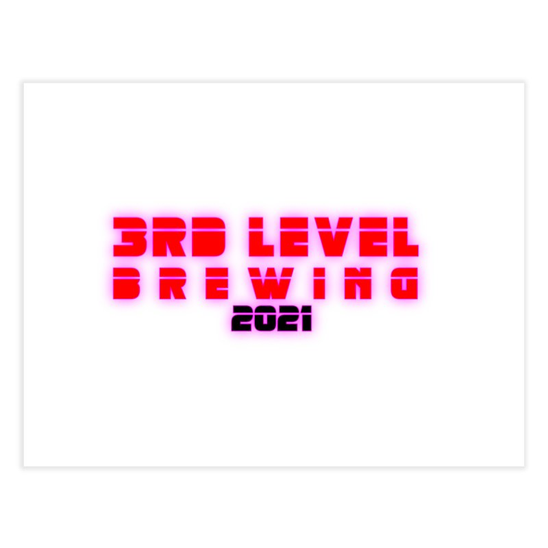 3rd Level Dystopian Future Home Fine Art Print by 3 Beers In's Artist Shop