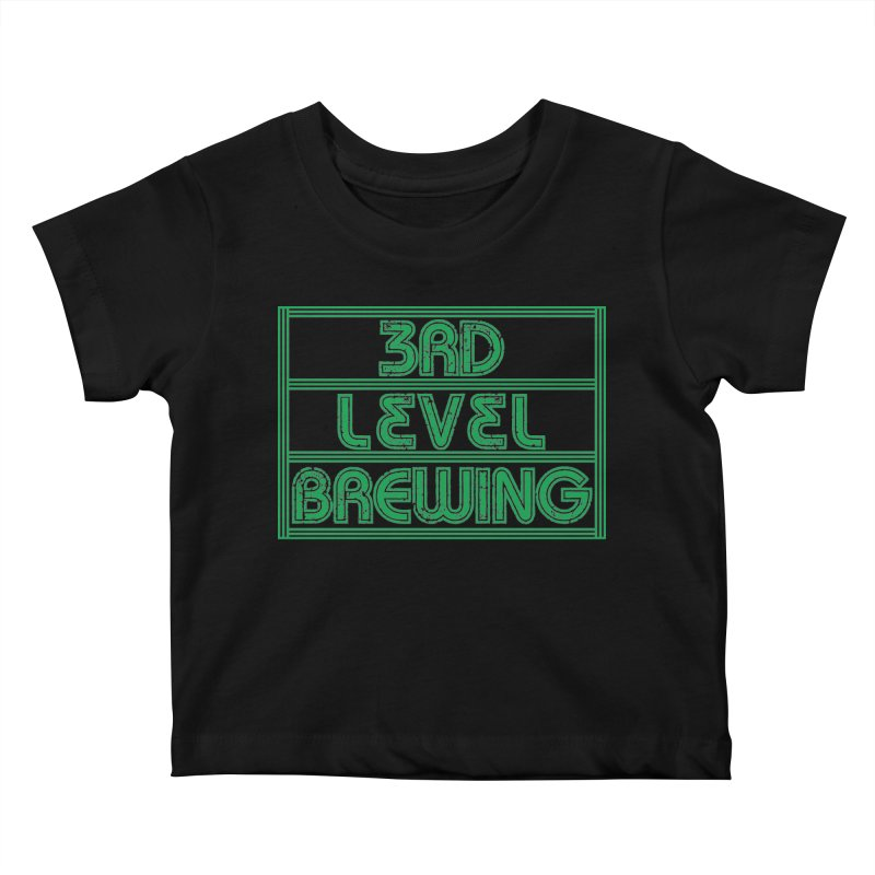3rd Level Kids Baby T-Shirt by 3 Beers In's Artist Shop