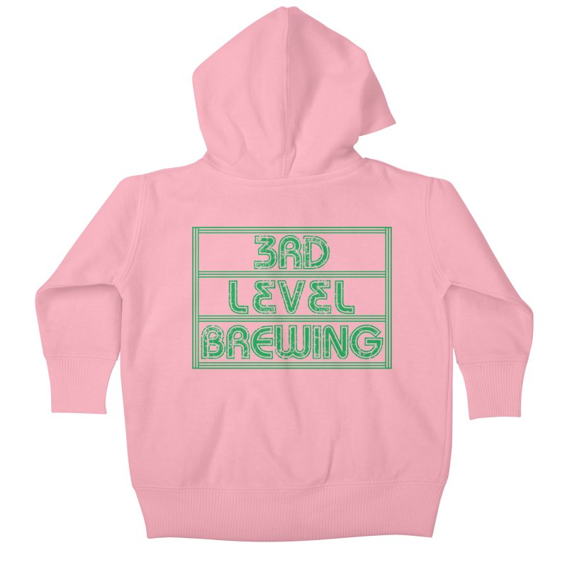 3rd Level Kids Baby Zip-Up Hoody by 3 Beers In's Artist Shop