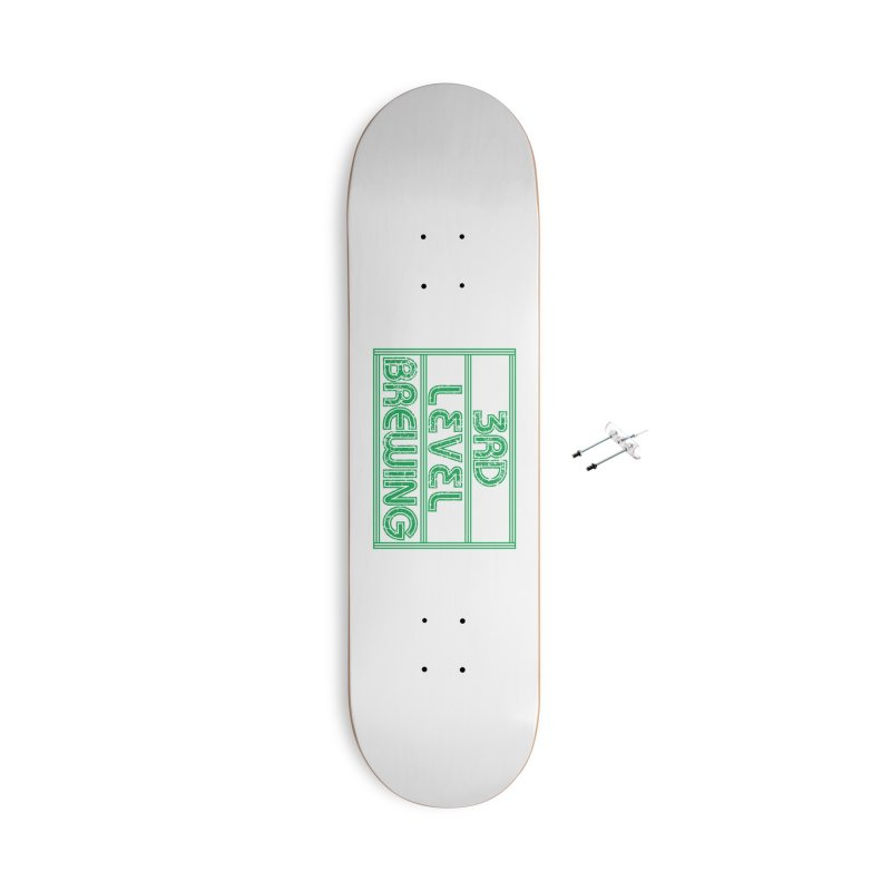 3rd Level Accessories Skateboard by 3 Beers In's Artist Shop