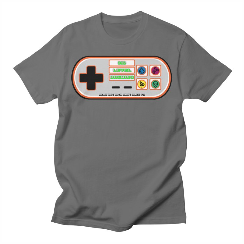3rd Level Controller Men's T-Shirt by 3 Beers In's Artist Shop