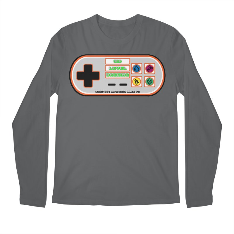 3rd Level Controller Men's Longsleeve T-Shirt by 3 Beers In's Artist Shop