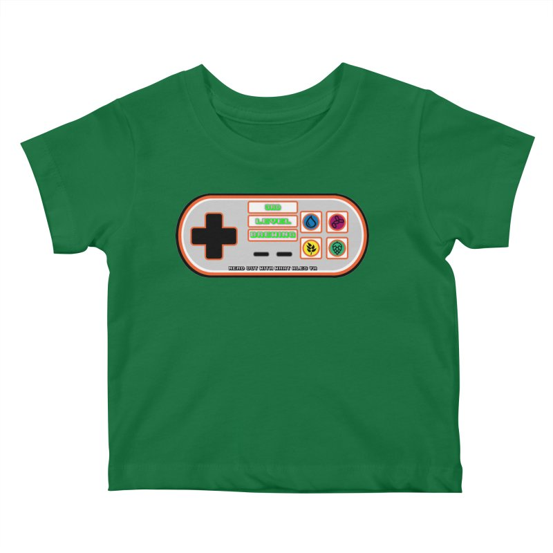 3rd Level Controller Kids Baby T-Shirt by 3 Beers In's Artist Shop
