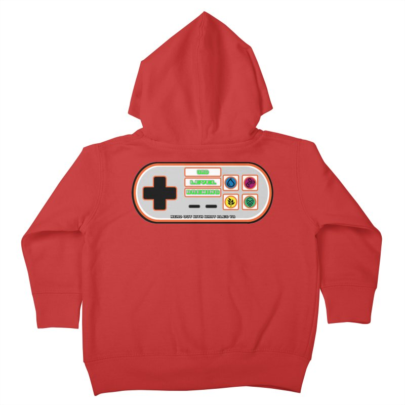 3rd Level Controller Kids Toddler Zip-Up Hoody by 3 Beers In's Artist Shop