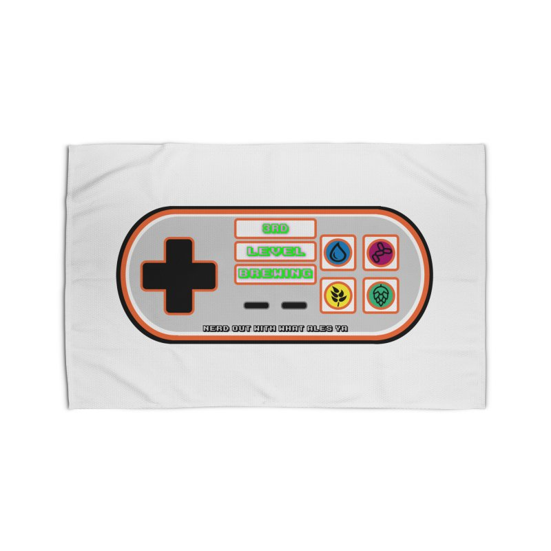 3rd Level Controller Home Rug by 3 Beers In's Artist Shop