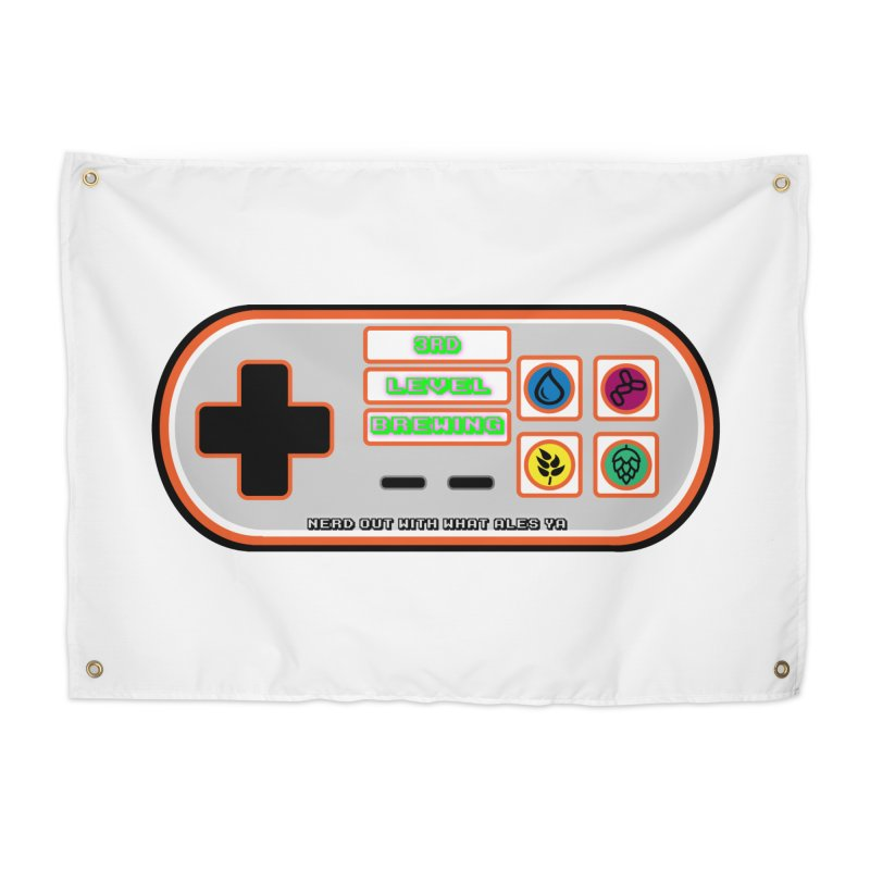 3rd Level Controller Home Tapestry by 3 Beers In's Artist Shop