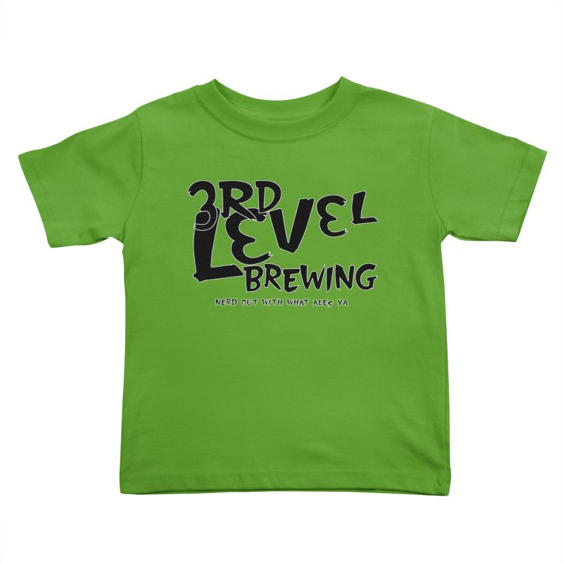 Fight II Kids Toddler T-Shirt by 3 Beers In's Artist Shop