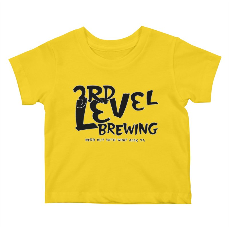 Fight II Kids Baby T-Shirt by 3 Beers In's Artist Shop