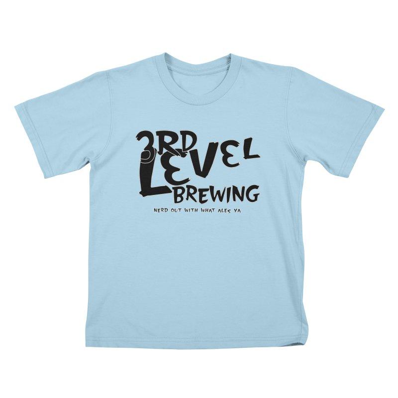 Fight II Kids T-Shirt by 3 Beers In's Artist Shop