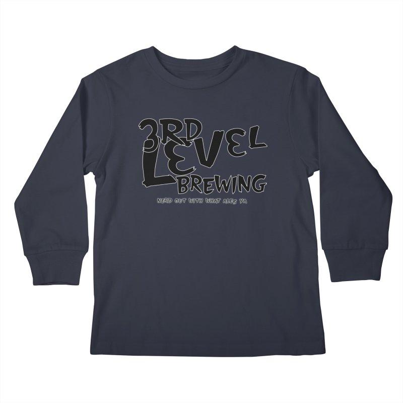 Fight II Kids Longsleeve T-Shirt by 3 Beers In's Artist Shop