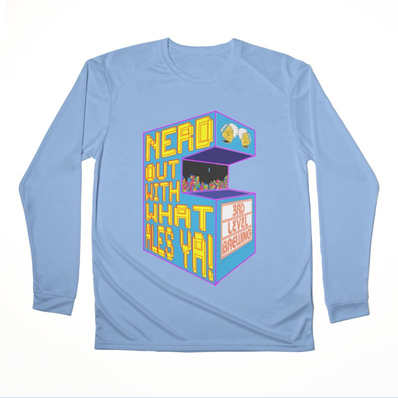 Arcade Classic Men's Longsleeve T-Shirt by 3 Beers In's Artist Shop
