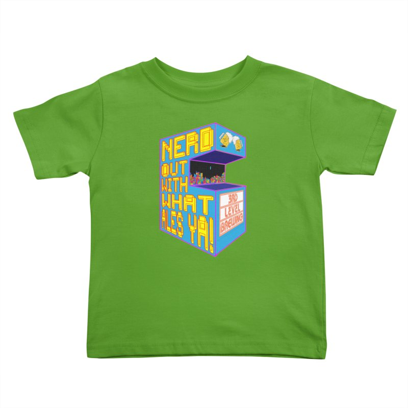 Arcade Classic Kids Toddler T-Shirt by 3 Beers In's Artist Shop