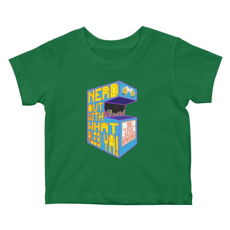 Arcade Classic Kids Baby T-Shirt by 3 Beers In's Artist Shop