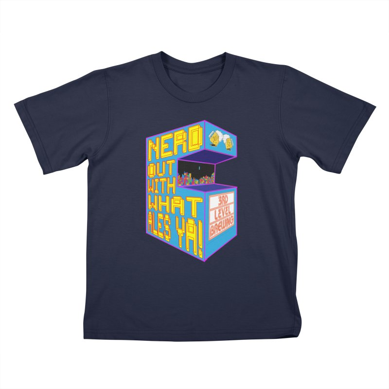 Arcade Classic Kids T-Shirt by 3 Beers In's Artist Shop