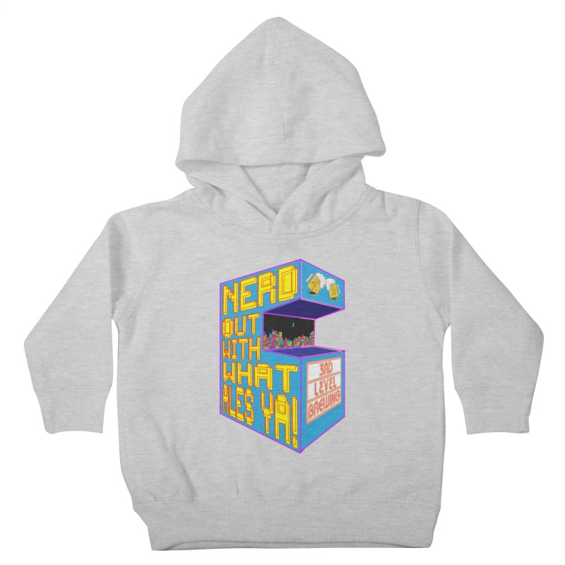 Arcade Classic Kids Toddler Pullover Hoody by 3 Beers In's Artist Shop