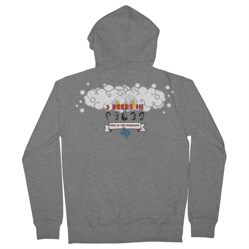 This. Is. The Podcast. Men's Zip-Up Hoody by 3 Beers In's Artist Shop