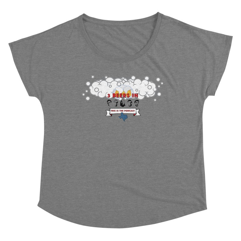 This. Is. The Podcast. Women's Scoop Neck by 3 Beers In's Artist Shop