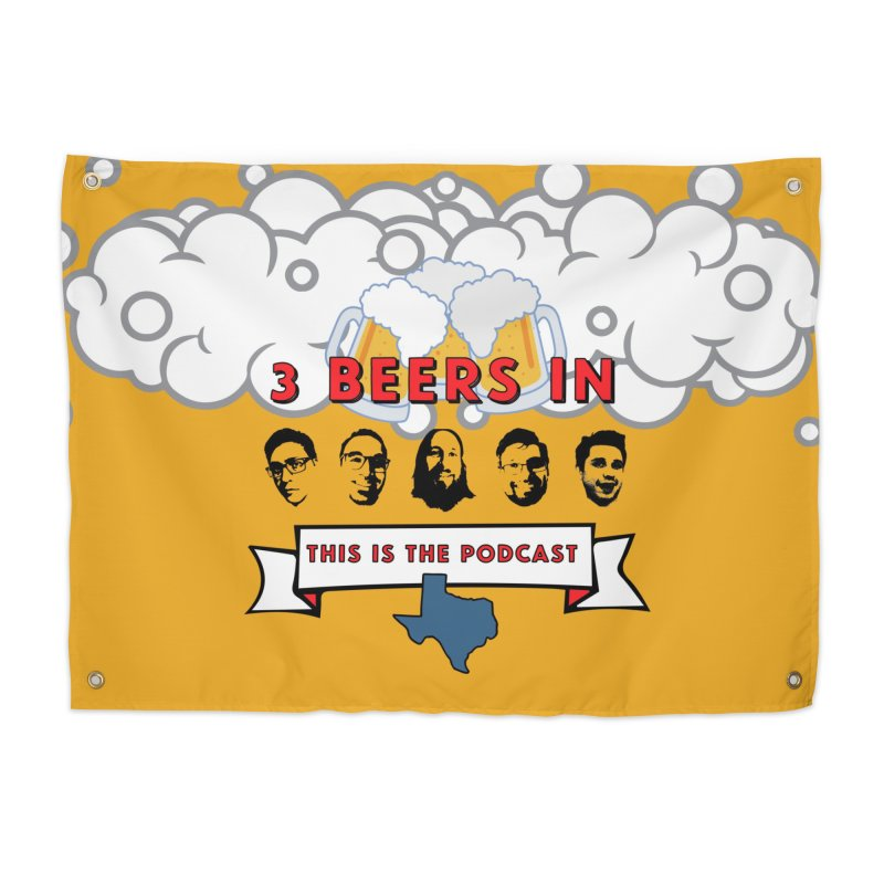 This. Is. The Podcast. Home Tapestry by 3 Beers In's Artist Shop