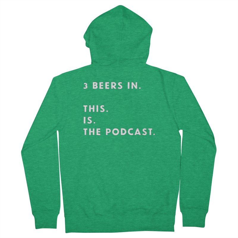 To. The. Point. Women's Zip-Up Hoody by 3 Beers In's Artist Shop