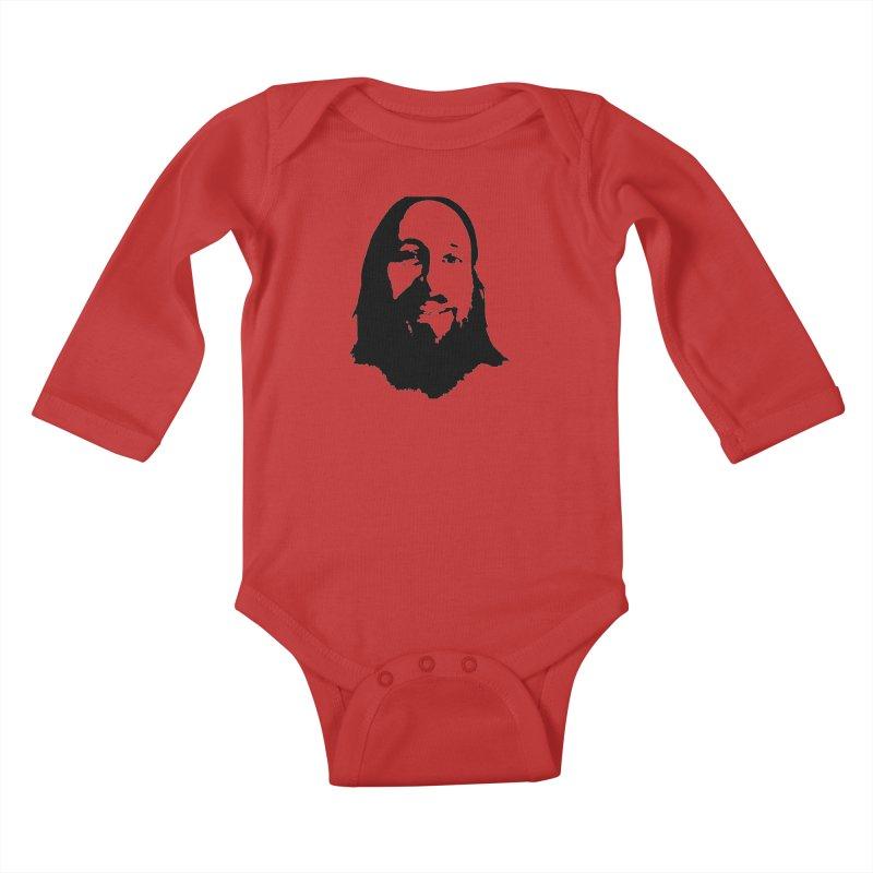 Cutter Kids Baby Longsleeve Bodysuit by 3 Beers In's Artist Shop